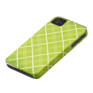 Capa de telefone de Argyle Blackberry do limão Capas Para iPhone 4 Case-Mate