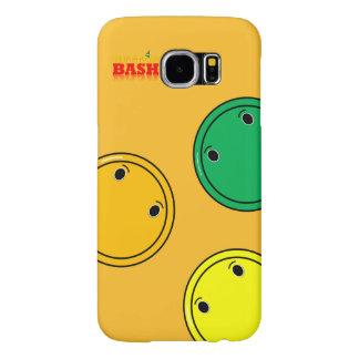 Capa de telefone de ButtonBash S6 do citrino