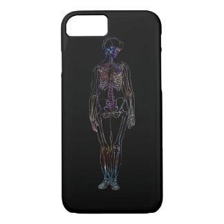 Capa de telefone de esqueleto