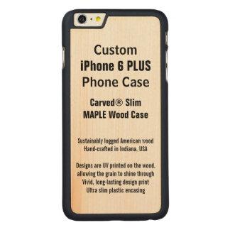 Capa de telefone de madeira real do bordo POSITIVO