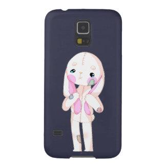 Capa de telefone de Samsung do coelho