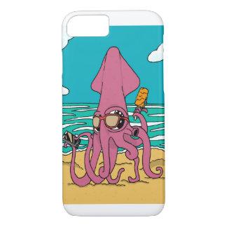 Capa de telefone do calamar de Bro