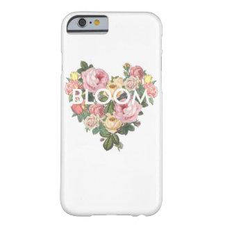 Capa de telefone do coração da flor da flor