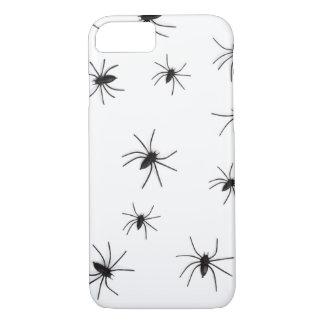 Capa de telefone do Dia das Bruxas das aranhas