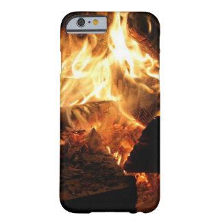 Capa de telefone do fogo