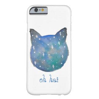 Capa de telefone do gato da galáxia