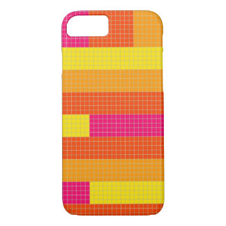 Capa de telefone do pixel de 4 cores
