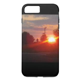 capa de telefone do por do sol iphone5