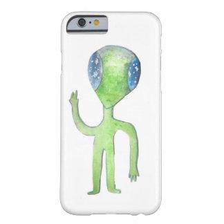 Capa de telefone do Sr. Alienígena