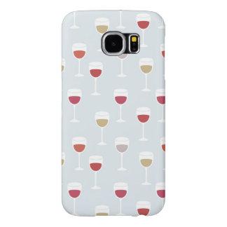 Capa de telefone do vinho