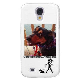 Capa de telefone dos caninos de Connecticut