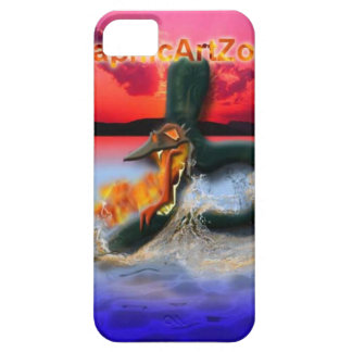 capa de telefone, dragão do fogo