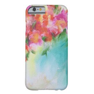 Capa de telefone floral abstrata