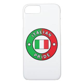 Capa de telefone italiana do orgulho