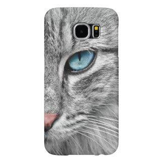 Capa de telefone móvel do olho de gato para o