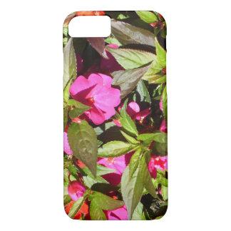 Capa de telefone tropical botânica floral bonita