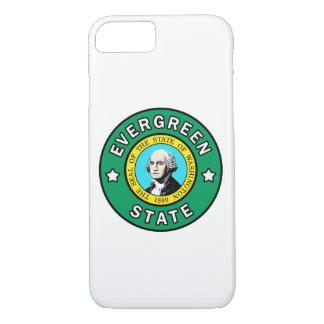 Capa de telefone verde do estado de Washington