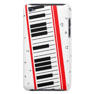 Capa do ipod touch 2012 do teclado de piano capa para iPod touch