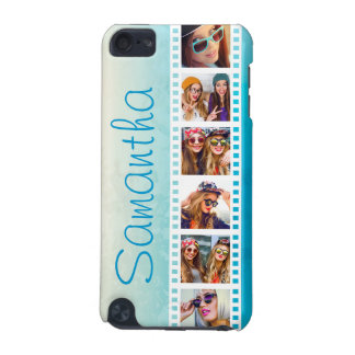 Capa do ipod touch azul na moda feminino do verão capa para iPod touch 5G