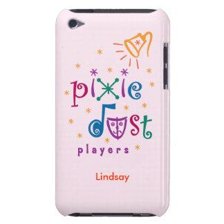 Capa do ipod touch cor-de-rosa dos jogadores da po capa para iPod touch