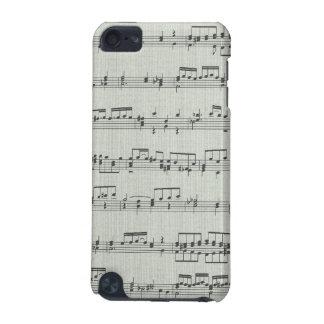 Capa do ipod touch da nota da música