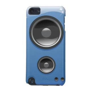 Capa do ipod touch do auto-falante da música