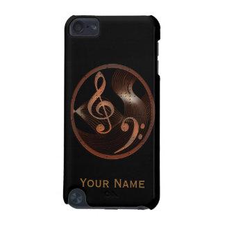 Capa do ipod touch do design da música de
