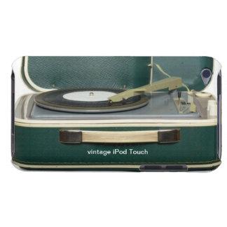 Capa do ipod touch do jogador gravado do vintage capa para iPod touch