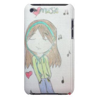 Capa do ipod touch dos trabalhos artísticos origin capa iPod touch Case-Mate