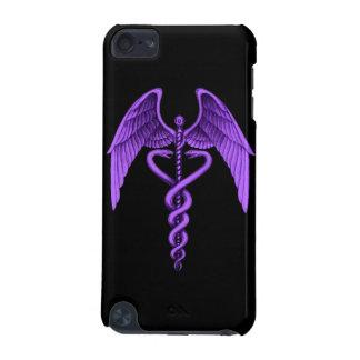 Capa do ipod touch médica do símbolo do Caduceus r