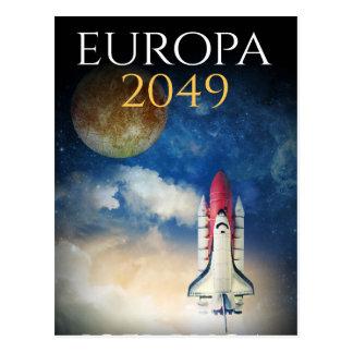 """Capa do livro do """"Europa 2049"""" por Joel Puga Cartão Postal"""