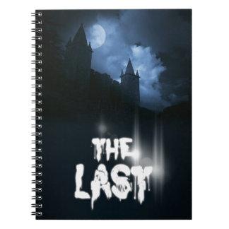 """Capa do livro """"do último"""" por Joel Puga Caderno Espiral"""