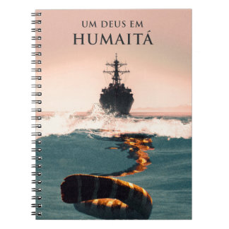 """Capa faz em Humaitá de Deus do livro """"Um """" Cadernos Espiral"""