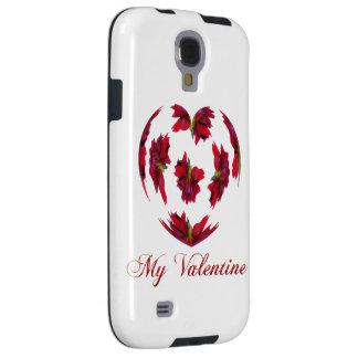 Capa Galaxy S4 Coração da dália