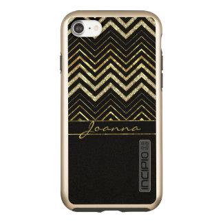 Capa Incipio DualPro Shine Para iPhone 8/7 Ziguezague moderno Chevron dos diamantes