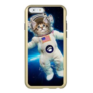 Capa Incipio Feather® Shine Para iPhone 6 Astronauta do gato - gato do espaço - amante do