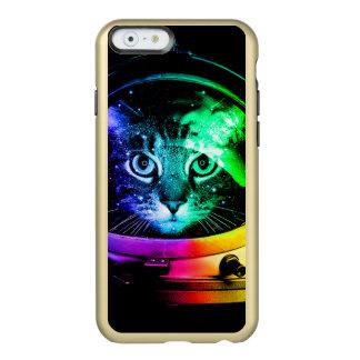 Capa Incipio Feather® Shine Para iPhone 6 Astronauta do gato - gato do espaço - gatos