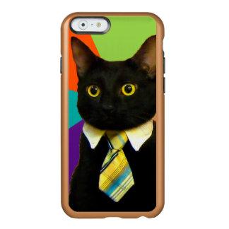 Capa Incipio Feather® Shine Para iPhone 6 gato do negócio - gato preto