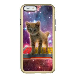 Capa Incipio Feather® Shine Para iPhone 6 gato do teclado - gato de gato malhado - gatinho