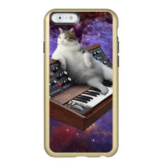 Capa Incipio Feather® Shine Para iPhone 6 gato do teclado - memes do gato - gato louco