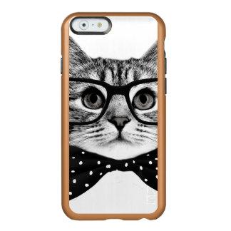 Capa Incipio Feather® Shine Para iPhone 6 laço do gato - gato dos vidros - gato de vidro