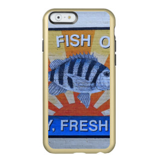 Capa Incipio Feather® Shine Para iPhone 6 Marisco de Charleston