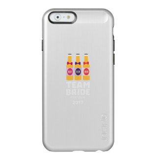 Capa Incipio Feather® Shine Para iPhone 6 Noiva Portugal da equipe 2017 Zg0kx