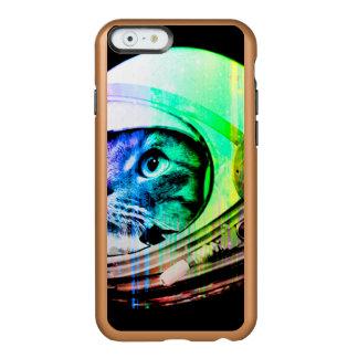 Capa Incipio Feather® Shine Para iPhone 6 os gatos coloridos - astronauta do gato - espaçam