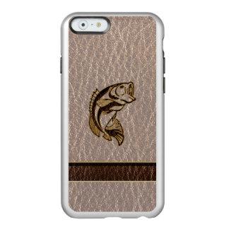 Capa Incipio Feather® Shine Para iPhone 6 Peixes do Couro-Olhar macios