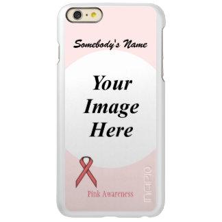 Capa Incipio Feather® Shine Para iPhone 6 Plus Modelo padrão cor-de-rosa da fita