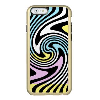 Capa Incipio Feather® Shine Para iPhone 6 Redemoinho das listras