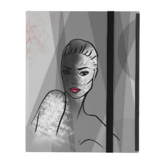 Capa iPad Cara bonita de Fashionillustration
