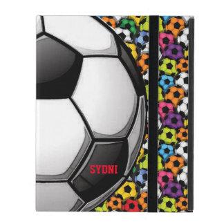 Capa iPad Caso do iPad 2/3/4 do design do futebol