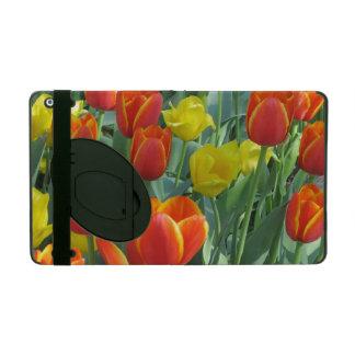 Capa iPad Flores da tulipa